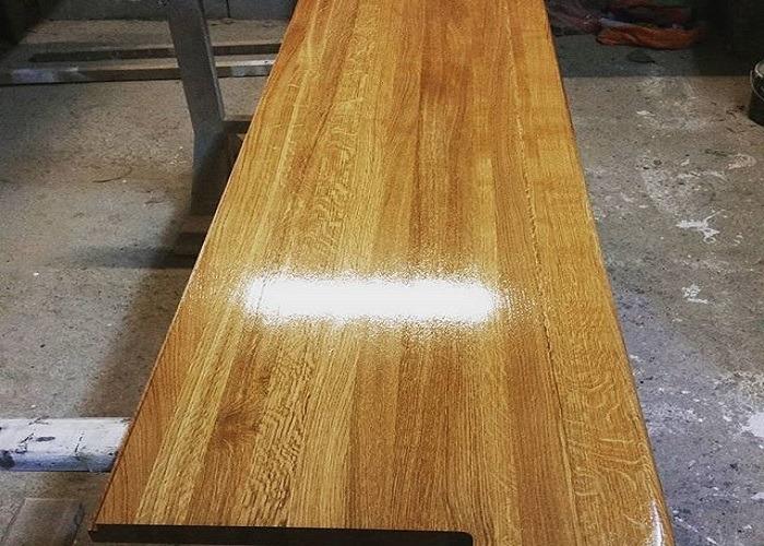 Пример древесины цельно-ламельной склейки