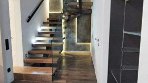 Лестница в квартире на второй этаж дизайн