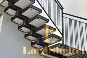 Металлокаркасные лестницы