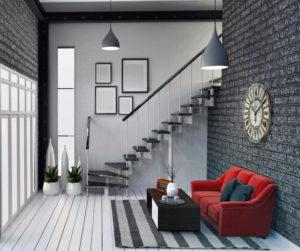 Дизайн лестниц в таунхаусе