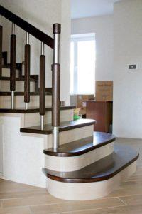 Лестница в двухэтажном доме - Воскресенск