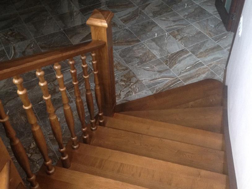 Лестница в таунхаусе - Волоколамск