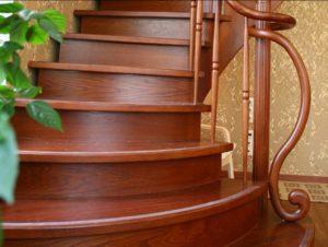 Красивые лестницы на второй этаж - Клин